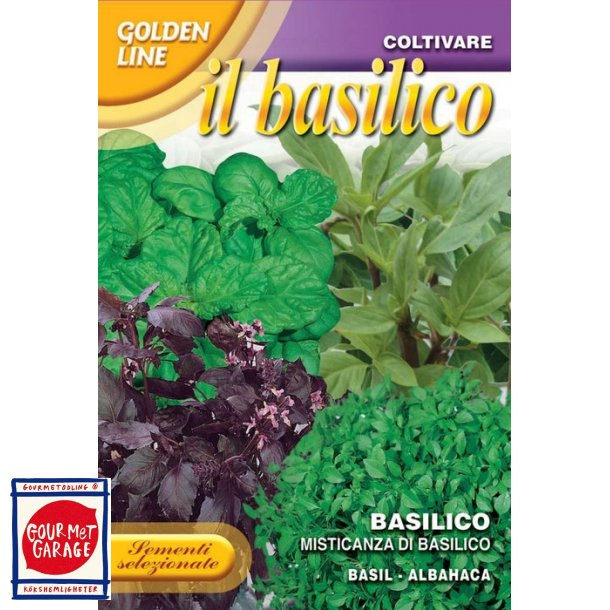 Basilikamix - Misticanza di basilico
