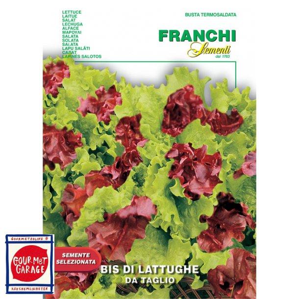 Duo sallat - röd och grön plocksallat