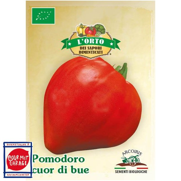 Tomat Cuor di Bue - ekologiska fröer