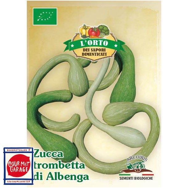 Zuchetta Trombetta di Albenga - ekologiska fröer