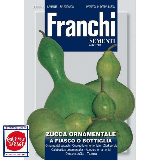 Zucchetta a fiasco o bottiglia - Flaskurbits