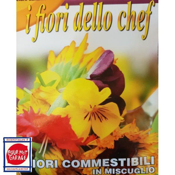 I fiori dello chef - blomstermix av ätliga blommor